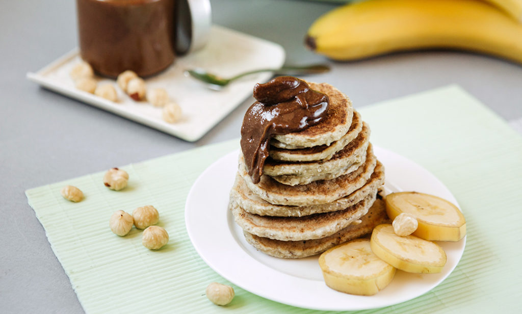 Ricetta Pancake Avena.Pancake Con Albume E Farina Di Avena Ricetta E Ingredienti